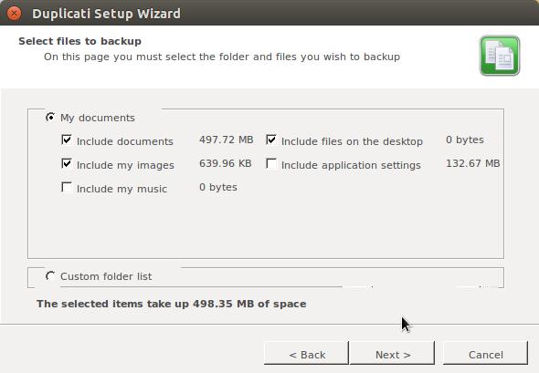 Duplicati backup files