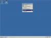 Detached menu on React OS desktop