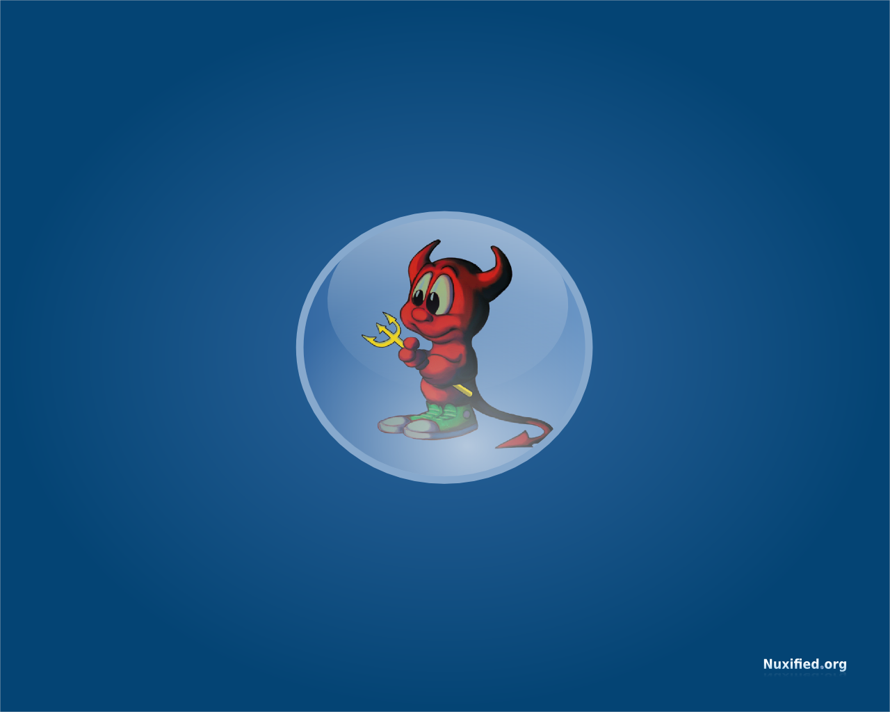 Nuxified Desktop BSD Wallpaper