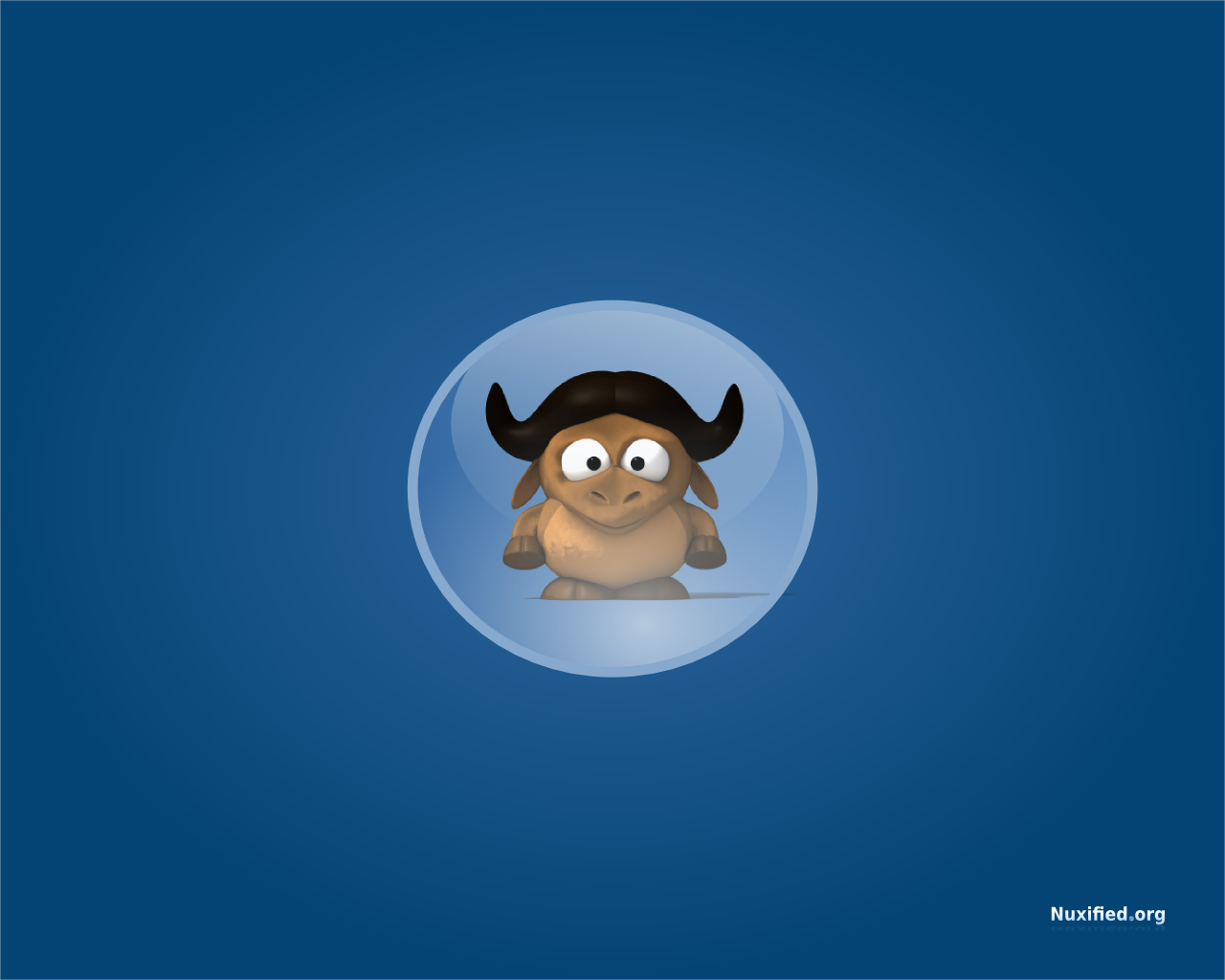 Nuxified Desktop GNU Wallpaper